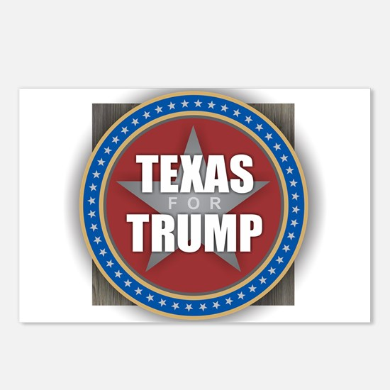 Texas for Trump Postcards (Package of 8)