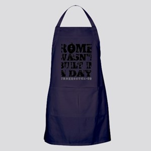 ROME - WHITE Apron (dark)