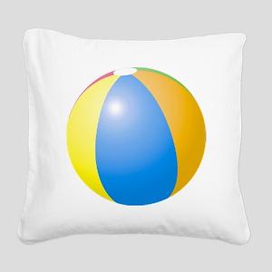 big beach ball Square Canvas Pillow