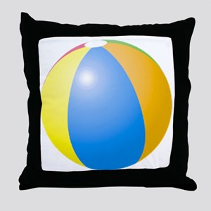 big beach ball Throw Pillow