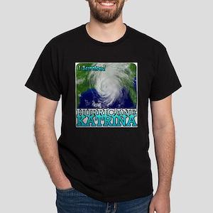 I Survived Hurricane Katrina T-Shirt (Grey) T-Shir