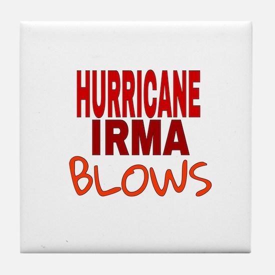 Hurricane Irma Blows Tile Coaster