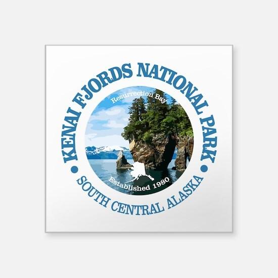 Kenai Fjords NP Sticker
