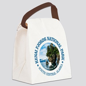 Kenai Fjords NP Canvas Lunch Bag