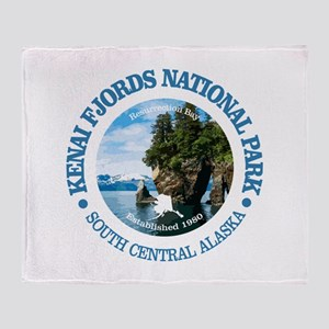 Kenai Fjords NP Throw Blanket