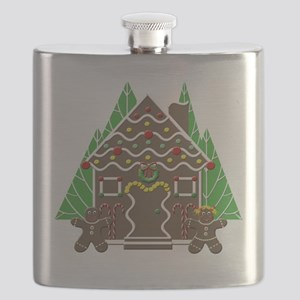 Gingerbread House Flask