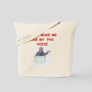 phd voice Tote Bag