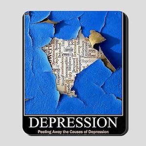 Depression Poster Mousepad