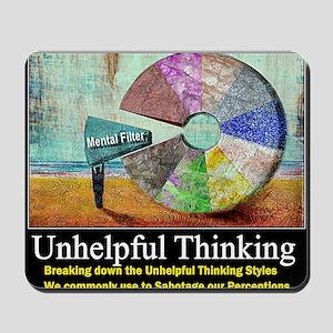 Unhelpful Thinking Styles Mousepad