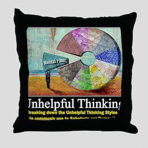 Unhelpful Thinking Styles Throw Pillow