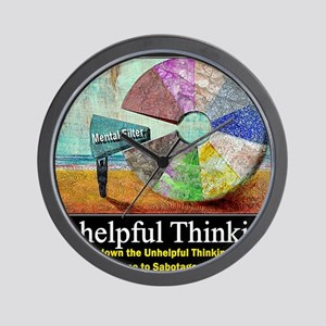 Unhelpful Thinking Styles Wall Clock