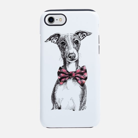 Italian Greyhound in Bow Tie iPhone 7 Tough Case