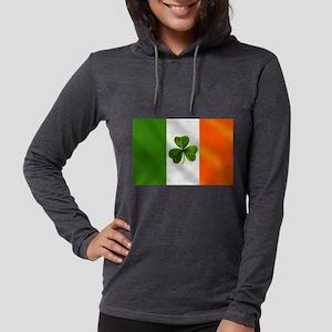 Irish Shamrock Flag Long Sleeve T-Shirt