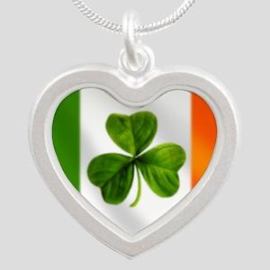 Irish Shamrock Flag Necklaces
