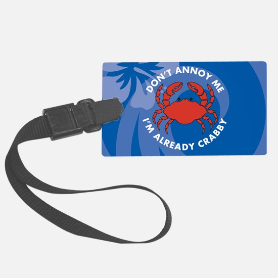 Dont Annoy Me Travel Valet Luggage Tag