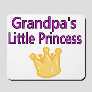 Grandpas Little Princess Mousepad