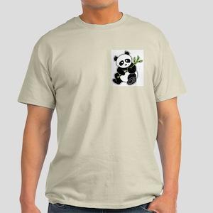 Sitting Panda Bear Light T-Shirt
