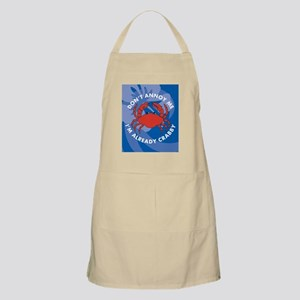 Dont Annoy Me Stadium Blanket Apron
