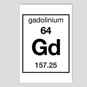 Gadolinium Postcards (Package of 8)