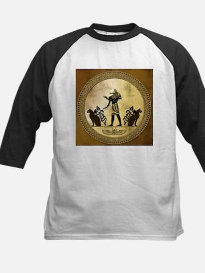 Anubis the egyptian god, gold and black Baseball J