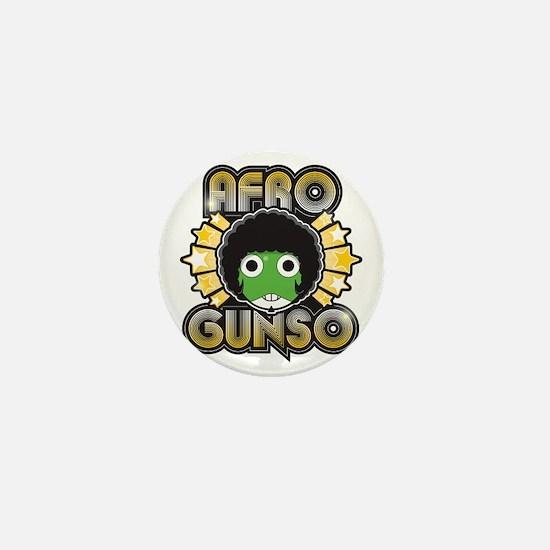 Afro Gunso Mini Button