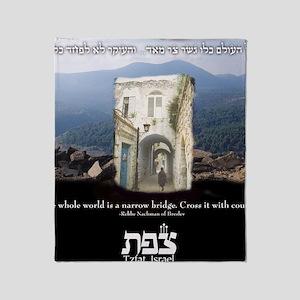 Safed and Kabbalah Throw Blanket