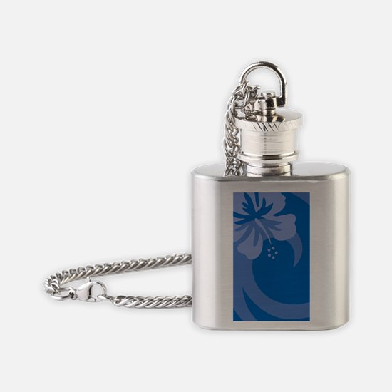 Blue Galaxy Note 2 Case Flask Necklace