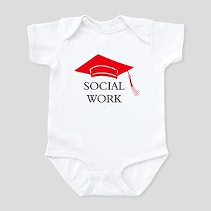 Red SW Grad Cap Infant Bodysuit