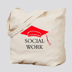 Red SW Grad Cap Tote Bag