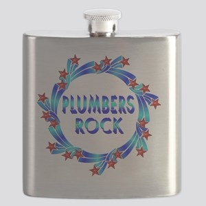 Plumbers Rock Flask