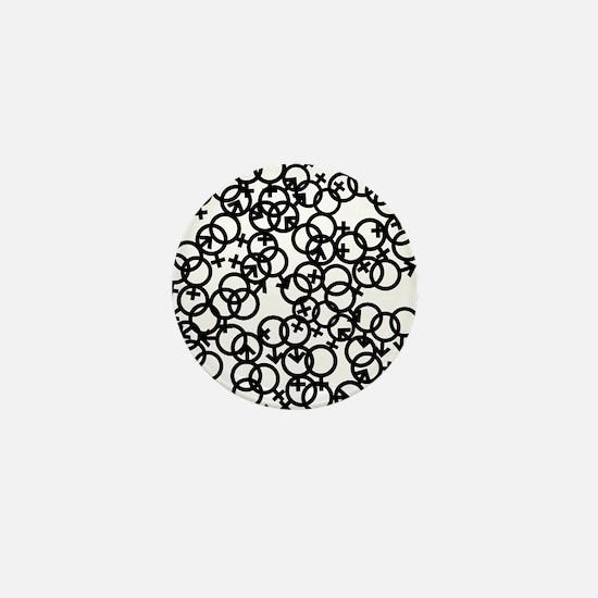 orgy Mini Button