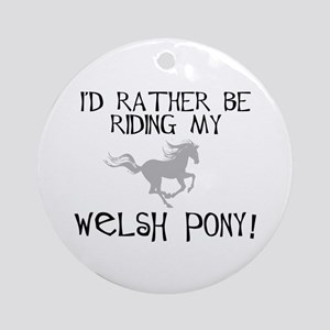 Rather-Welsh Pony! Ornament (Round)