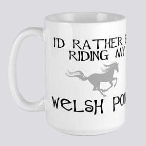 Rather-Welsh Pony! Large Mug