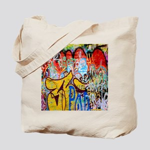 Colorful Graffiti Tote Bag