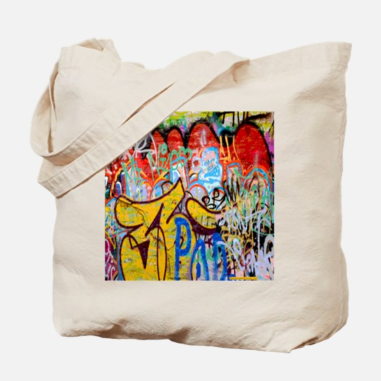 Colorful Graffiti Tote Bag