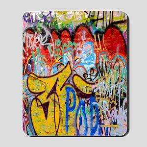 Colorful Graffiti Mousepad