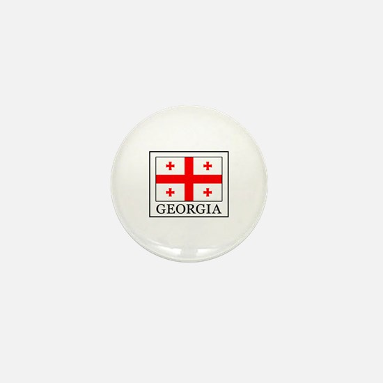Funny Tbilisi georgia Mini Button