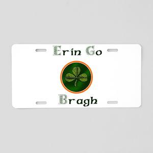 Erin go Bragh Aluminum License Plate