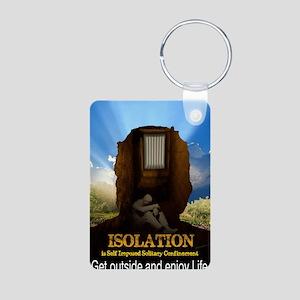 Isolation Aluminum Photo Keychain