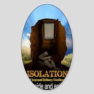Isolation Sticker (Oval)