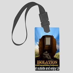 Isolation Large Luggage Tag