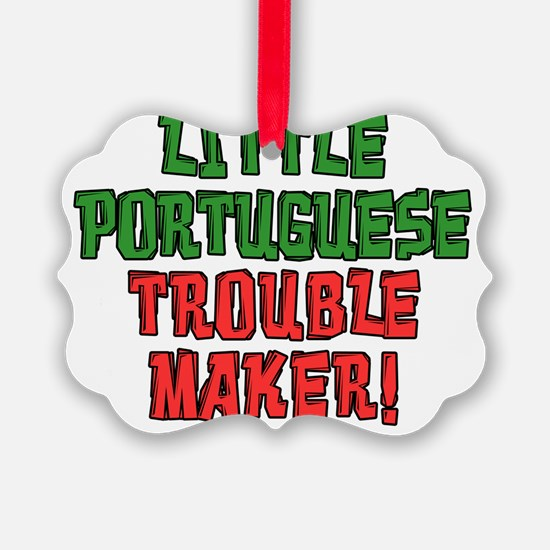 Little Portuguese Trouble Maker Ornament