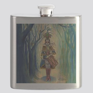 Drummer Girl Stadium Blanket Flask