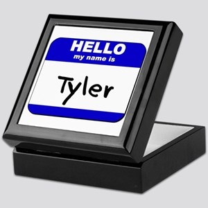 hello my name is tyler Keepsake Box