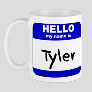 hello my name is tyler  Mug