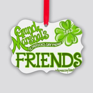 Grand Marshals Friends Picture Ornament