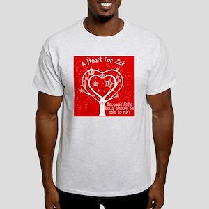 A Red Heart For Zak Light T-Shirt
