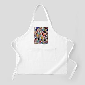 Colorful Patchwork Quilt Apron