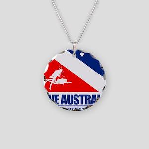 Dive Australia 2 Necklace Circle Charm