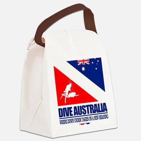 Dive Australia 2 Canvas Lunch Bag